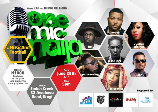 Jesse Jagz is headlining  One Mic Naija this Sunday – Get your Sex and Scotch on