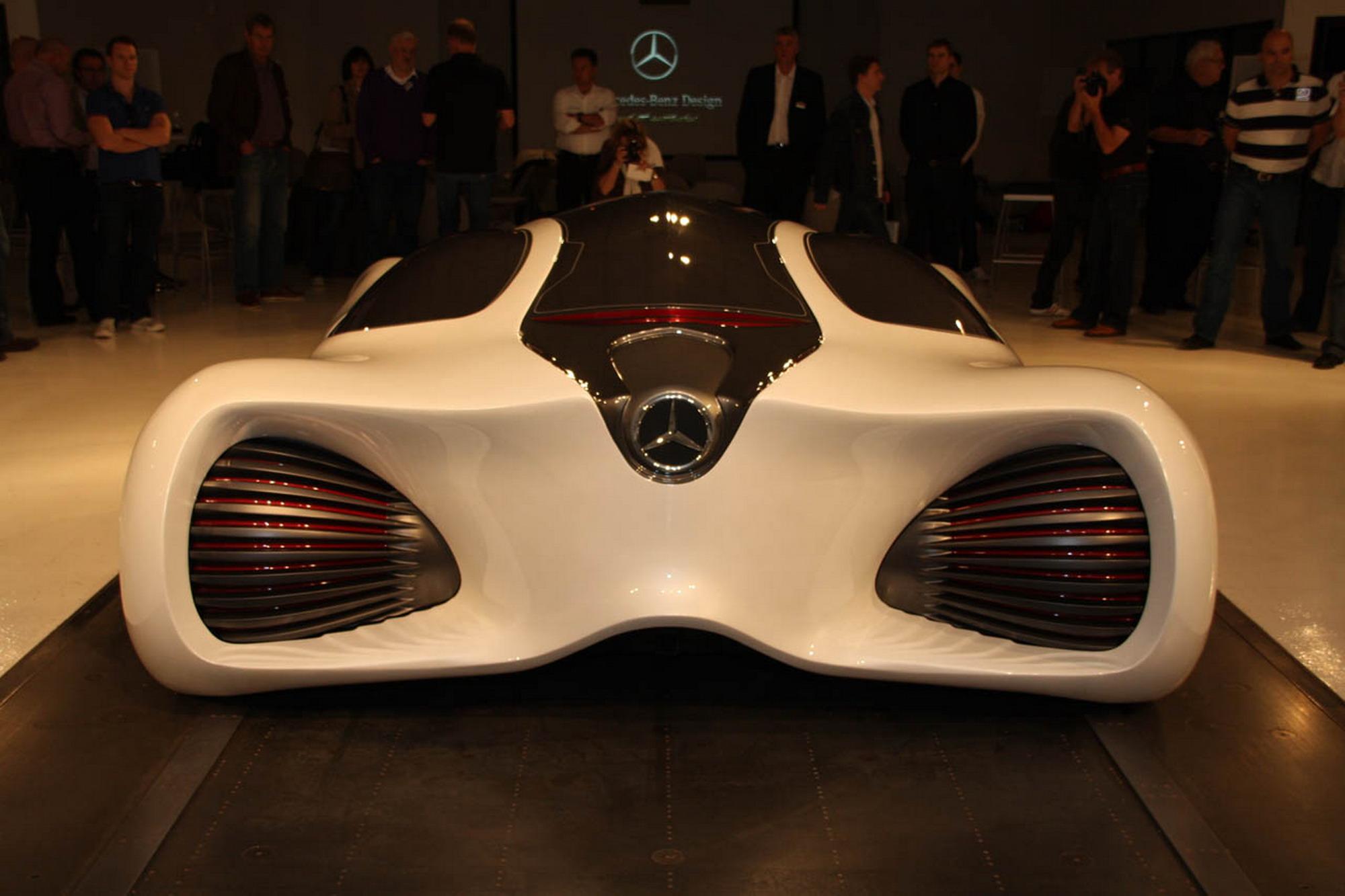 "Mercedes Benz Biome"" - Images of a futuristic car"