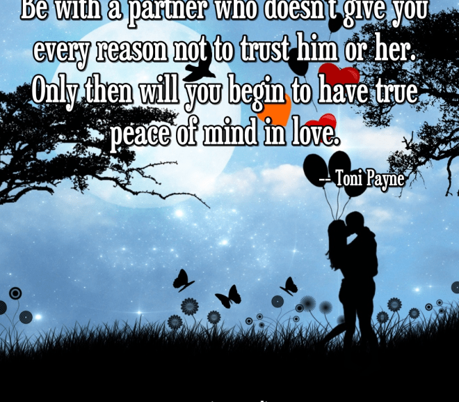 Quote About Love – Be With a Partner