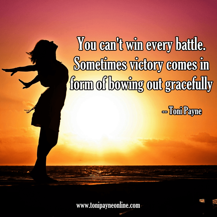 Quote about Winning Gracefully