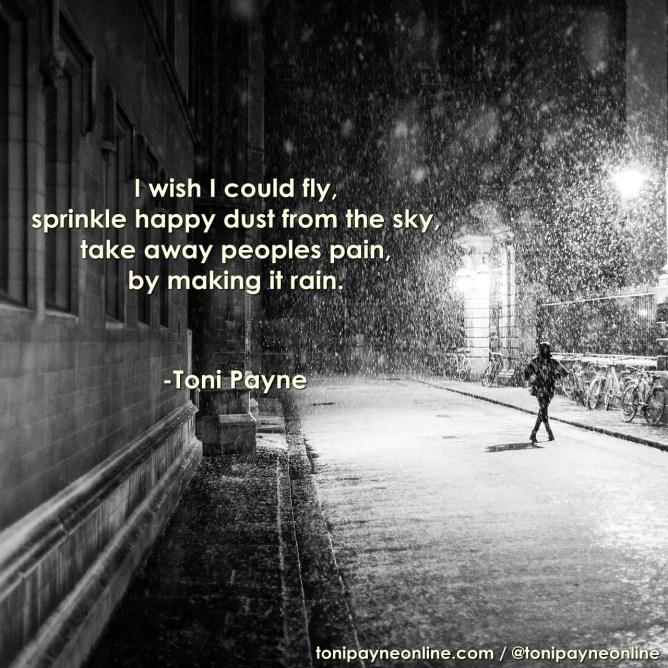 I Wish - Inspirational Poetry by Toni Payne