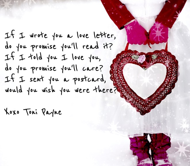 Quote about Love – If I Wrote You a Love Letter….