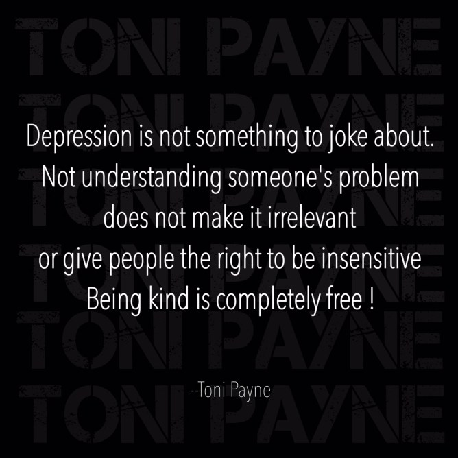 depression quote - depression is not