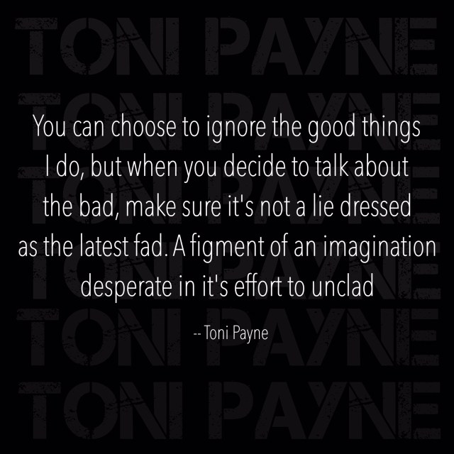you choose to ignore