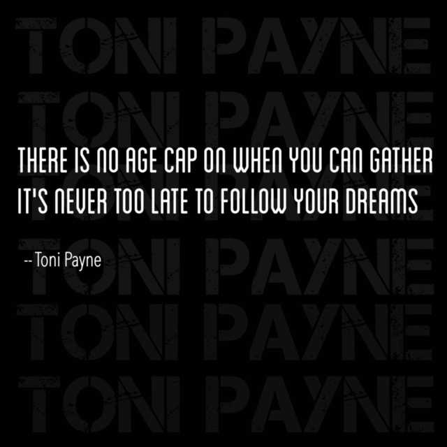 Quote about following your dreams at an older age