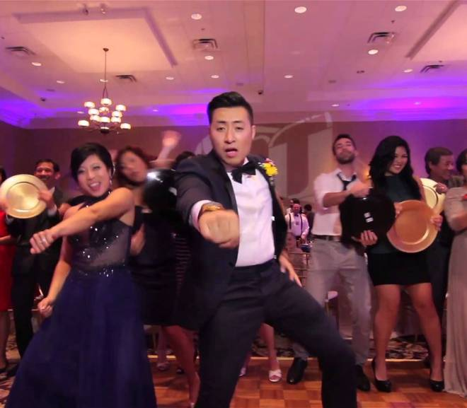 Amazing Wedding Video Couple Dances with Guests