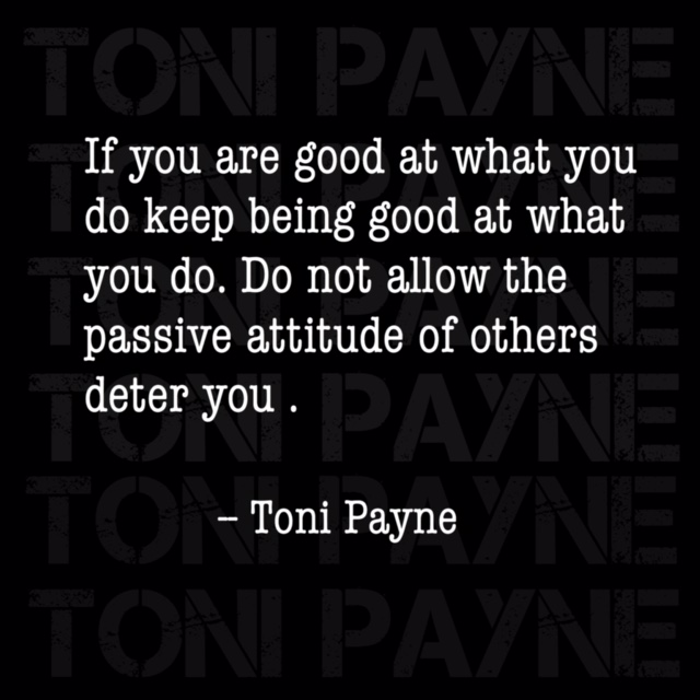 Quote about being good at what you do