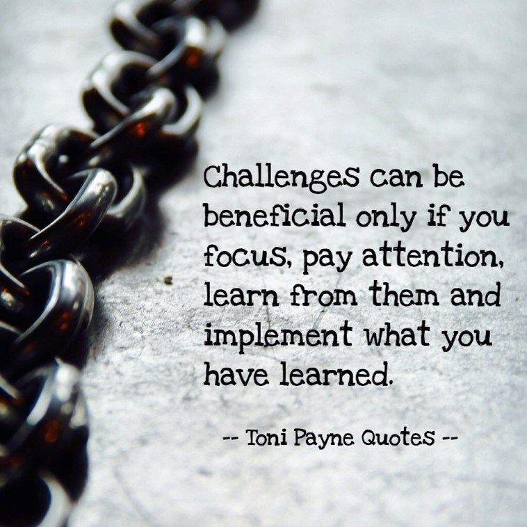 Quote about facing challenges