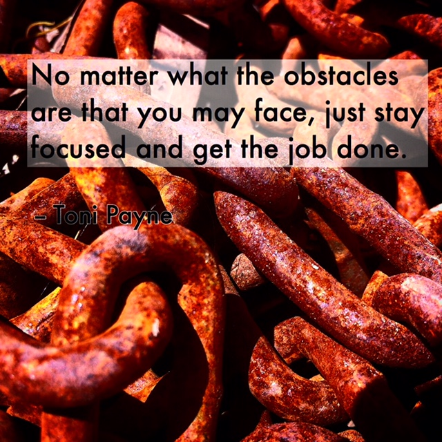 Quote about facing obstacles