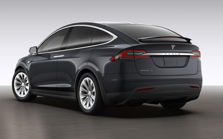 Tesla Model X 60D midnight silver