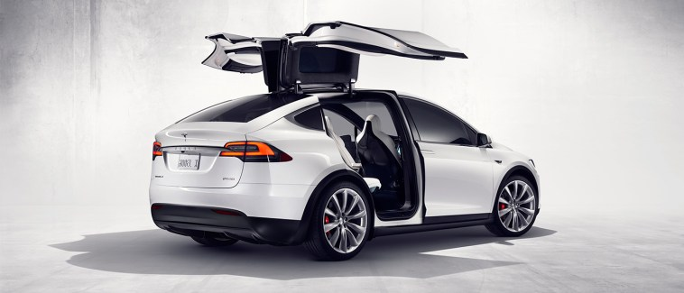 Tesla Model X 60D wings