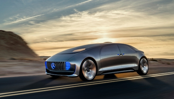 Mercedes-Benz F 015 Concept Car - Video and Pictures