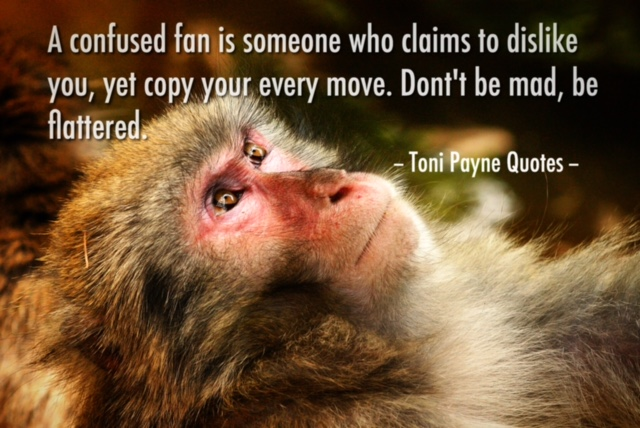 Quote about haters who are really fans