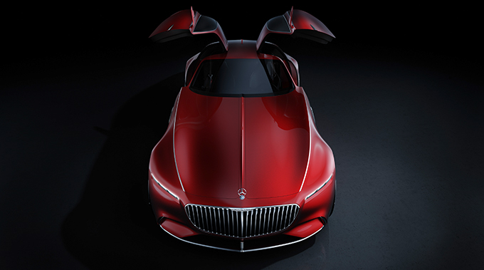 Vision Mercedes-Maybach 6 1