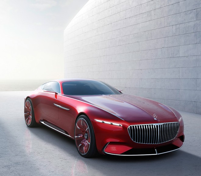 Vision Mercedes-Maybach 6 Concept Car- Pictures and Video