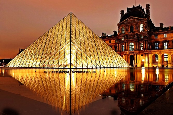 top travel destinations louvre paris