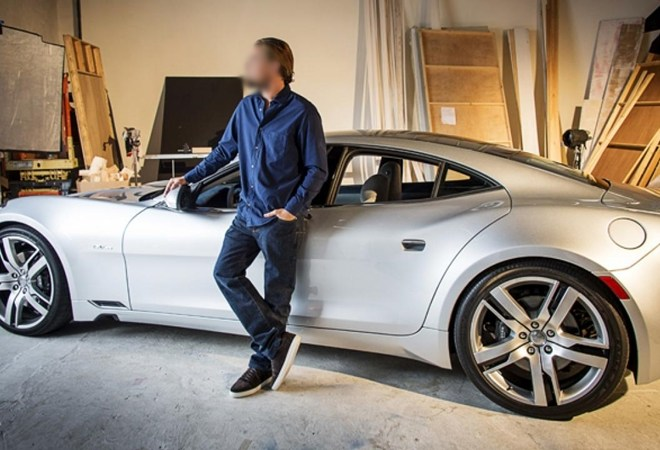 Celebrity Cars: What Celebrity is this with his Fisker Karma? Take Poll