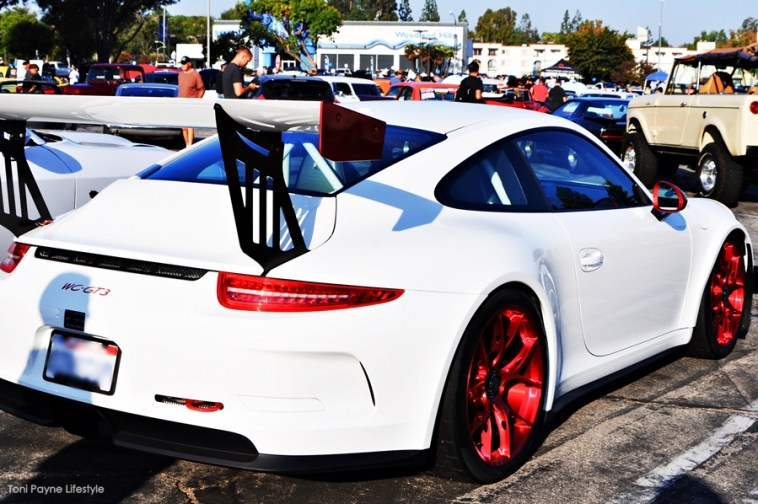 The Porsche 911 WC GT3 toni payne