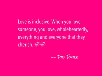 Love Quote about Love Being Inclusive