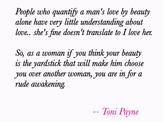 Quote about Love and Beauty