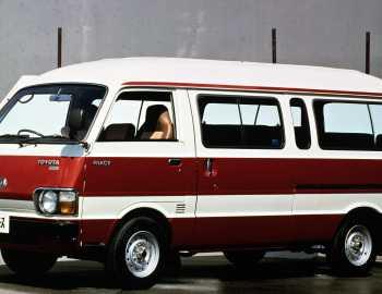 Фото тойота микроавтобус