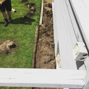New garden for the vegies