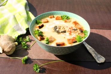 Kartoffel-Ingwer Suppe