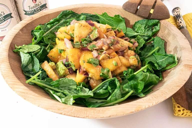 Tonita's Tropical Fresh Salad