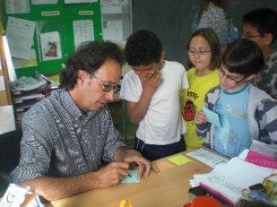 Toni Villalobos a les escoles
