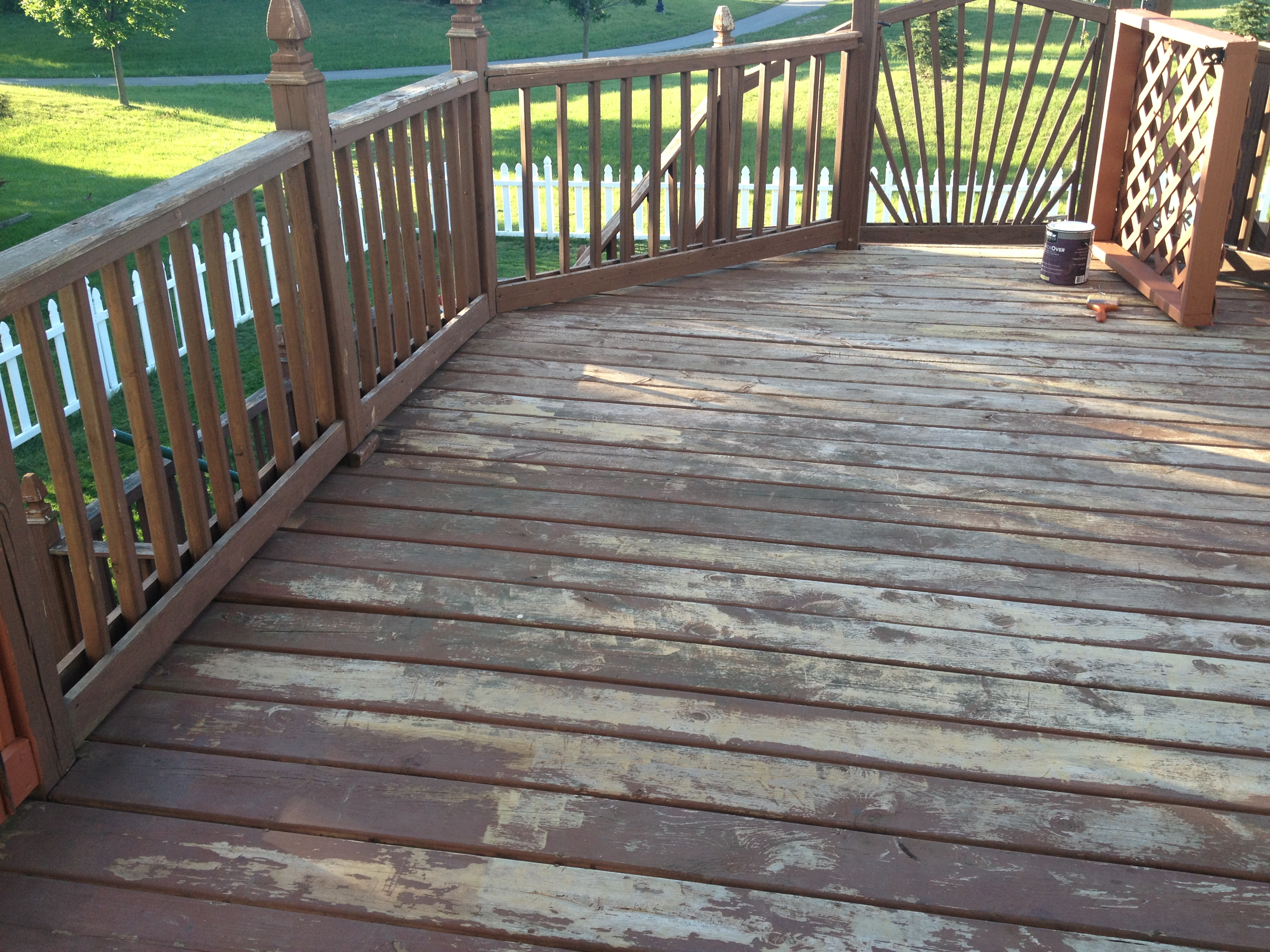 Behr DeckOver | Tonja's Travels on Deck Over Patio Ideas id=48180