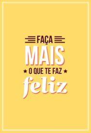 Seja MAIS feliz