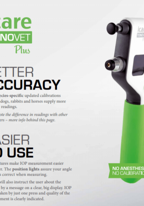Tonovet plus brochure cover