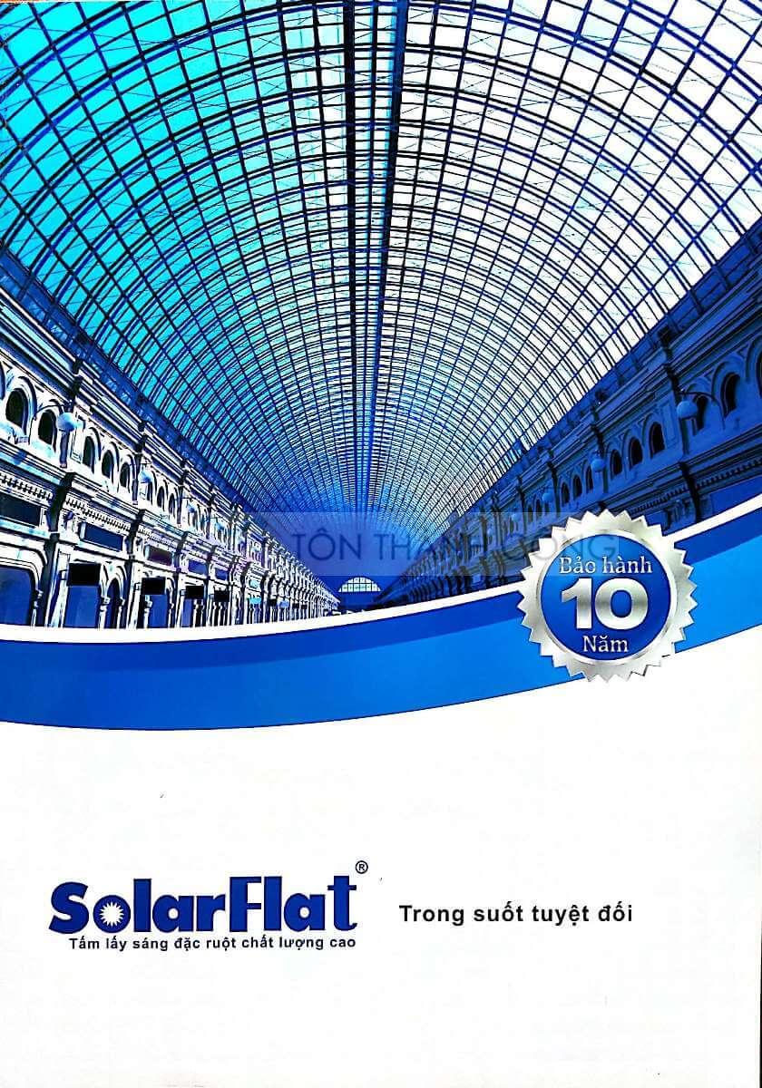Catalog Trang 1 - SOLARFLAT, Tấm Polycarbonate Đặc Ruột Indonesia