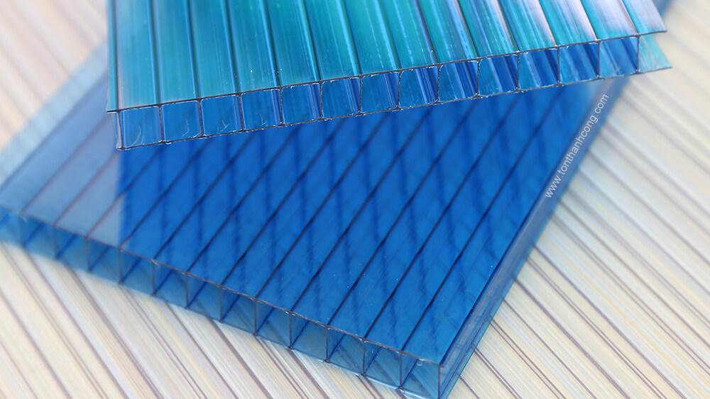 Polycarbonate rỗng ruột TwinLite, SolarLite, SoLite, PolyTop, EcoPoly, SunLite, VIP