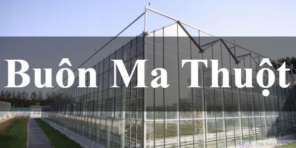Buôn Ma Thuột, Đắk Lắk mua bán tấm polycarbonate đặc ruột – rỗng ruột – tôn sáng