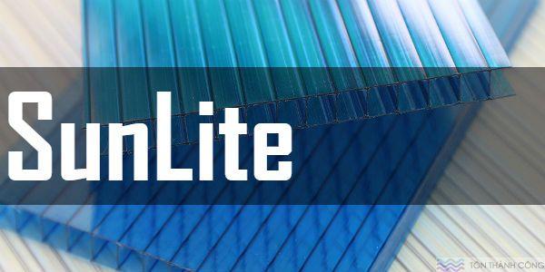 Tấm Polycarbonate SunLite - Tấm lợp lấy sáng rỗng ruột