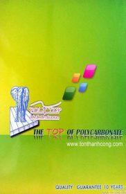 Catalogue PolyTop – Tấm lợp lấy sáng polycarbonate