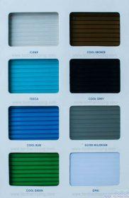 Màu Sắc TwinLite – Tấm lợp lấy sáng polycarbonate