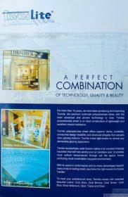 Catalogue TwinLite – Tấm lợp lấy sáng polycarbonate