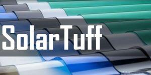 Tôn Polycarbonate SolarTuff - Tấm lợp lấy sáng dạng sóng