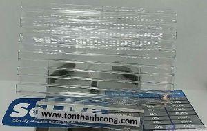Solite Clear (Trắng Trong, Không Màu) Indonesia - Tấm Polycarbonate Rỗng Ruột Dày 5mm HCM