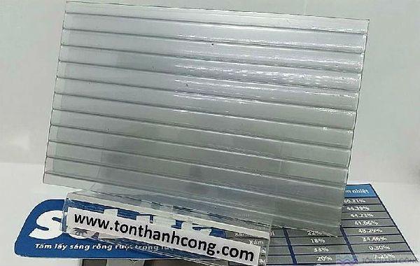 Solite Silver Millenium (Xám Bạc) Indonesia - Tấm Polycarbonate Rỗng Ruột Dày 5mm HCM