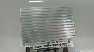 Solarlite Silver Millenium (Xám Bạc) - Tấm Polycarbonate Rỗng Ruột HCM