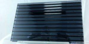TwinLite, màu Grey (Xám Khói) – Tấm Polycarbonate Rỗng Ruột Lấy Sáng