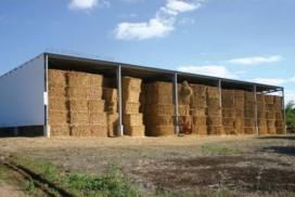 Vựa chứa cỏ khô, rơm khô - Tôn Kháng Ăn Mòn PVC-A