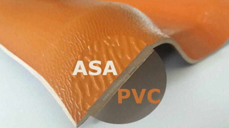 Lớp Phủ ASA, Tôn Nhựa PVC ASA