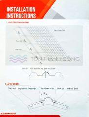 Ngói Nhựa PVC ASA – Hướng dẫn thi công – Trang 6