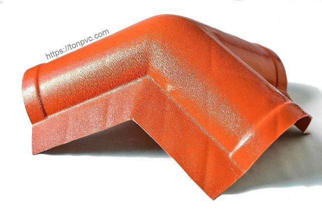 Hình đại diện của Tấm Úp Đỉnh Mái, phụ kiện Ngói Nhựa Tổng Hợp ASA/PVC