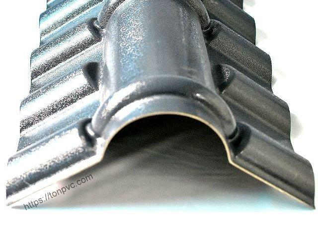 Hình đại diện của Tấm Úp Nóc, phụ kiện Ngói Nhựa Tổng Hợp ASA/PVC