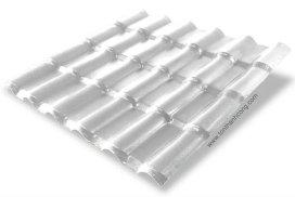 Ngói Nhựa Tổng Hợp ASA/PVC màu Trắng Sữa, Hình đại diện